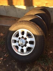 Duramax wheel and tires
