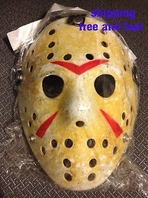 FRIDAY THE 13TH HOCKEY MASK - USA SELLER Halloween JASON vs FREDDY Costume - Friday The 13 Vs Halloween