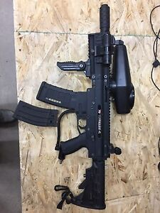 Tippman X7 with Remote Line, HPA Tank and Extras