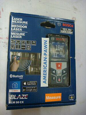 "Bosch GLM 50 CX ""Blaze"", 165' Bluetooth Laser Distance Measurer"