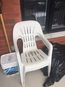 Outside White Chairs *MUST GO*