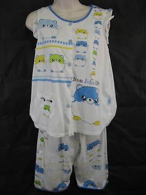 Elton John Aids Foundation Pajamas Small Cute Smart Baby doll Two Piece