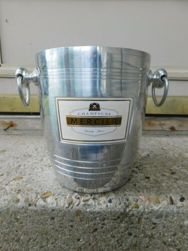 VINTAGE AWESOME FRANCE MERCIER CHAMPAGNE ICE BUCKET