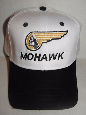 MOHAWK AIRLINE BASEBALL CAP AIRPLANE ALLEGHENY US AIRWAYS AMERICAN PILOT GIFT !