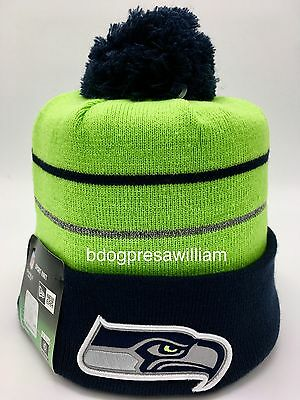 Thanksgiving Hat (NFL Seattle Seahawks 2014 New Era Thanksgiving Day Knit Beanie Hat)