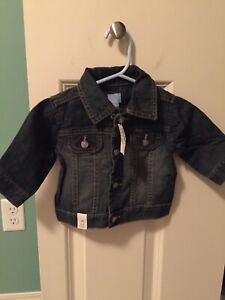 3-6 month denim jacket