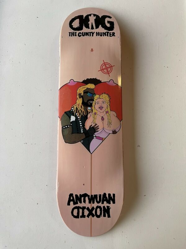 Dog The Cunty Hunter Antwuan Dixon Skateboard Deck 8.75 Deathwish Bounty DGK