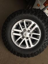 17 inch hilux sr5 alloys with new tyres Picton Wollondilly Area Preview