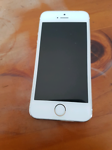 Iphone 5s white and gold . 32gb Barnsley Lake Macquarie Area Preview