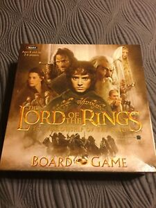 The Lord of the Rings Fellowship of the Rings Board Game