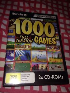 Wanted: Eureka's 1000 Full Version Games - PC