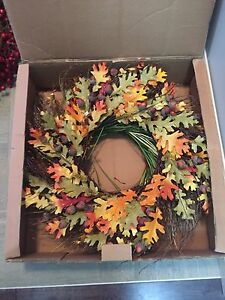 8 Christmas Wreathes and 2 Fall