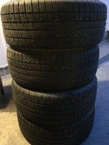 """4 PIRELLI Scorpion Zero P235/50r18"""" tires"""