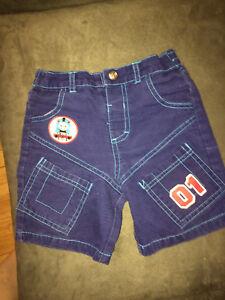 Thomas jean shorts 3 t