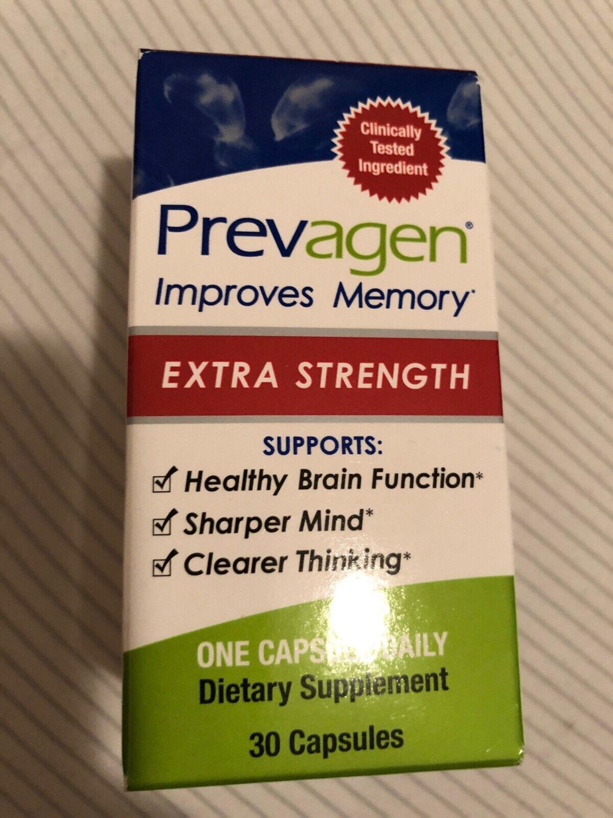 Prevagen Extra Strength Improves Memory Capsules - 30 Coun
