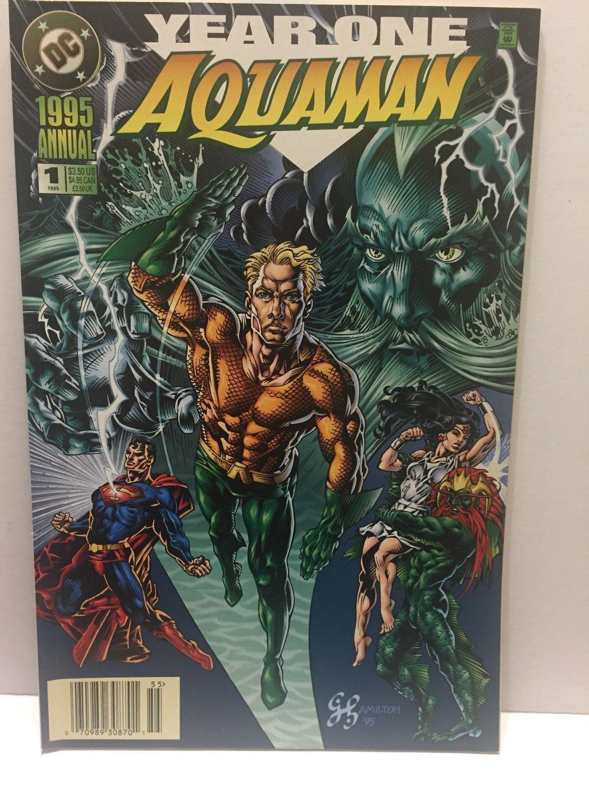 1995 DC Comics Year One Aquaman Annual - $1.95
