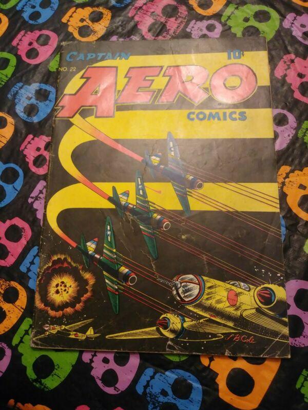 Captain Aero Comics #22