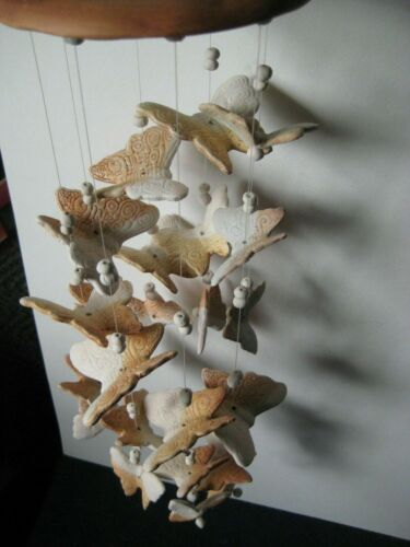 Monarch Butterflies Wind Chime Large Ornament Gift Yard Hanging