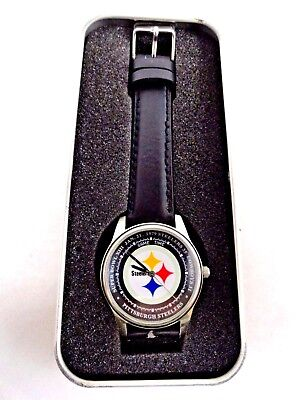 Game Time Pittsburgh Steelers Nfl 1979 Super Bowl Xiii Watch  Fresh Battery