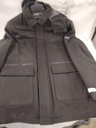 Men's Calvin Klein Duffle Coat Black Size Medium