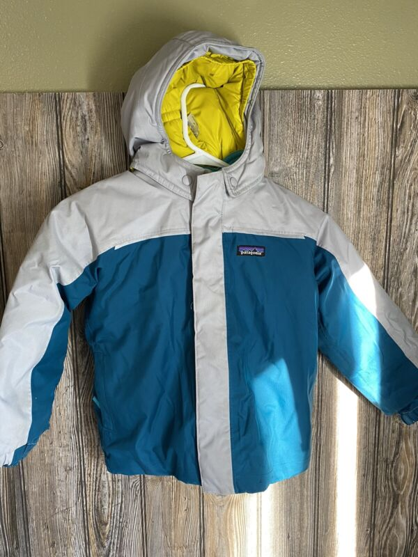 Patagonia Insulated Toddler Ski Jacket Size 4T Preowned