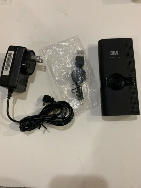3M Mpro150 Pocket Projector INCOMPLETE