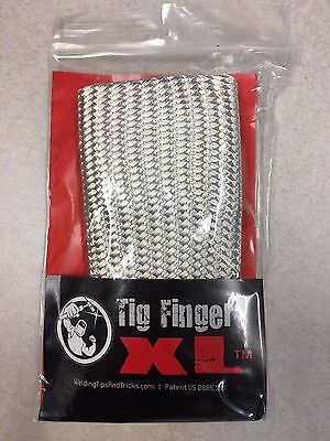 Original Tig Finger Xl Weld Monger Welding Glove Heat Shield Cover Free Ship