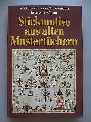 Stickmotive aus alten Mustertüchern 1983 Handarbeit Sticken
