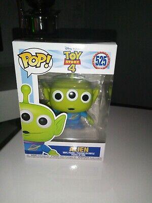 Pop Funko Action Figure Toy Story 4 Alien 525 New Rare Disney films Pixar movie