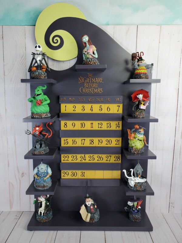Disney Nightmare Before Christmas Perpetual Calendar Bradford Exchange No.A0696