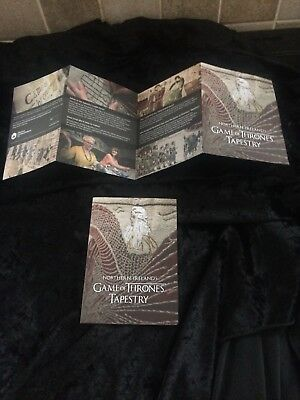 Two Game Of Thrones Tapestry Museum Booklets