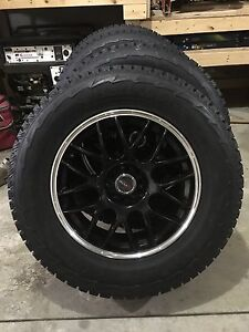 Winter Tires and Rims P255/65R17