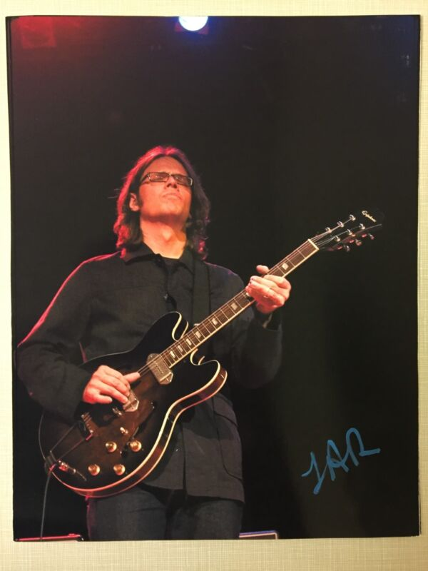 Luther Dickinson Signed Photo Black Crowes North Mississippi Allstars Rock Proof