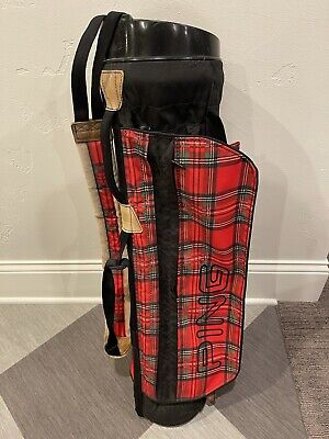 RARE Vintage Ping L8+ Sunday Carry Golf Bag