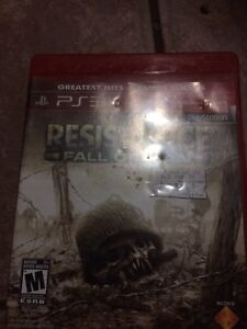 Resistance fall of man(Greatest hits) PS3
