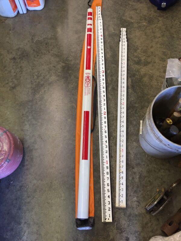 SOKKIA 25' Oval Fiberglass Leveling Rod + 16' Crain 92041 + More