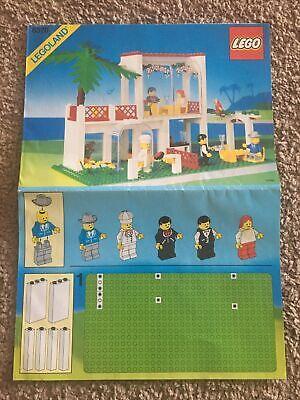 LEGO 6376 Legend Breezeway Cafe Instructions Manual Only