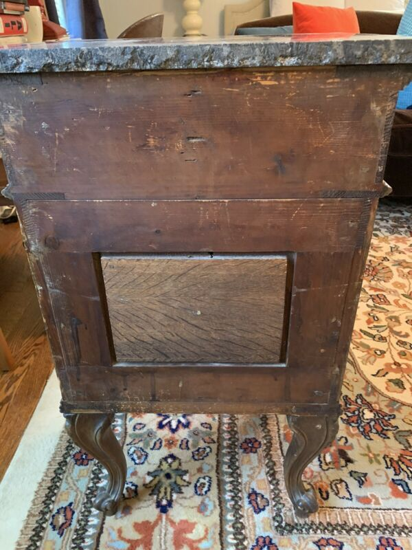 Antique Marble Top Night Stand (Two Separate Stands)