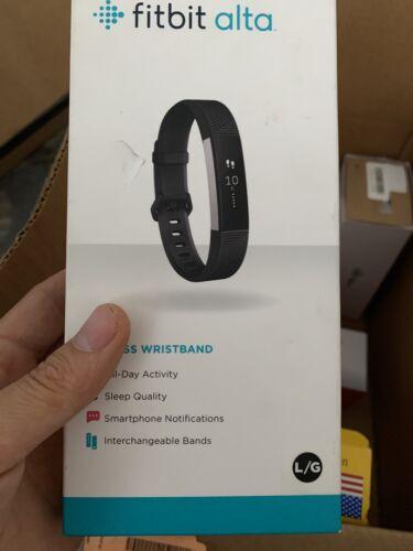 alta fitness wristband activity tracker black large