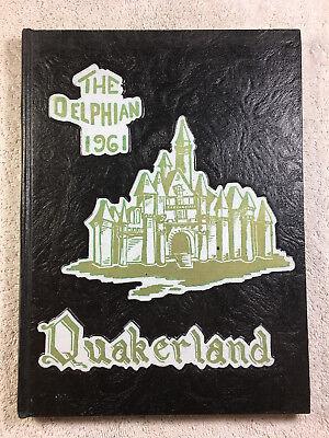 1961 Delphian Yearbook New Philadelphia High School Ohio Genealogy Annual