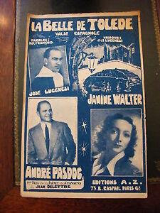 Partition-La-belle-Toledo-Jose-Lucchesi-Janine-Walter-AndrE-Pasdog