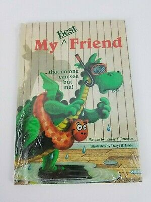 My Best Friend that no one can see but me Sealed Kids Book Dinosaur