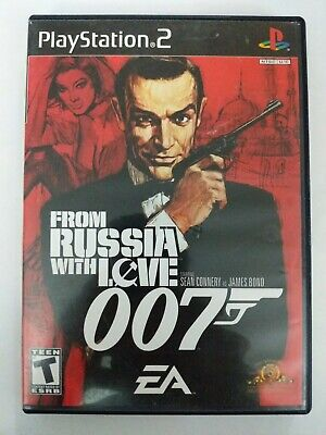 James Bond 007 From Russia With Love Sony PlayStation 2, 2005 Complete Free Ship