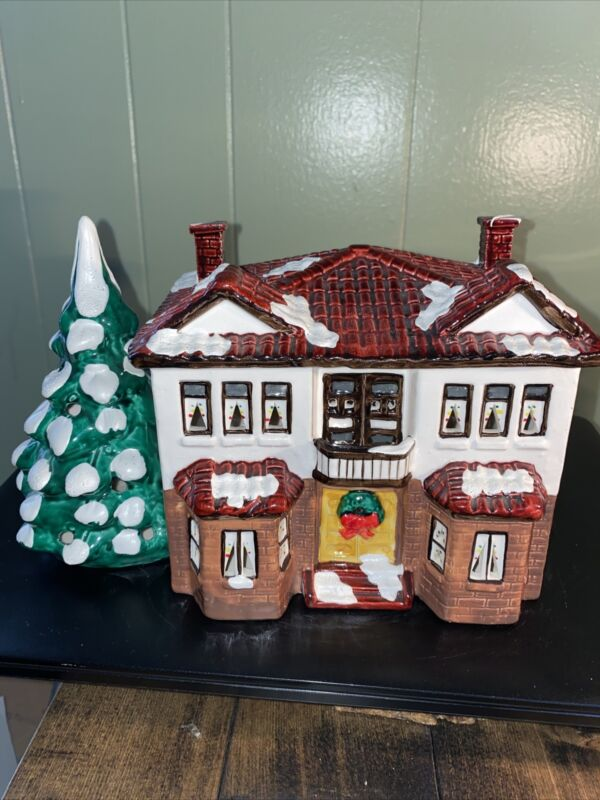 Department 56 Snow Village Series Duplex #50504