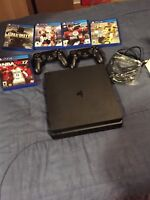 PS4 sim 1 TB with games