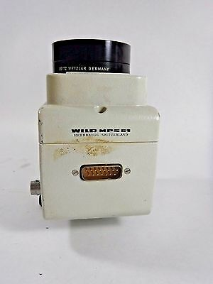 Leitz Wetzlar 1x Adapter Lens Wild Heerbrugg Mps51 Microscope Camera Adapter