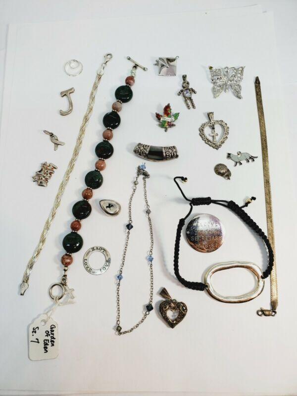 Vintage Sterling Silver Lot  - Scrap or Wear - 75 Grams (C13)