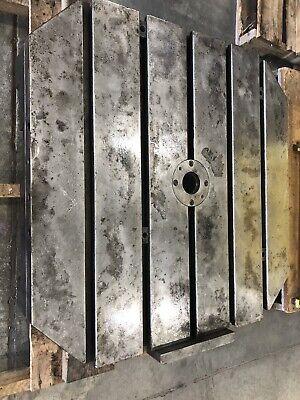 Kearney Trecker Mm800 Milling Machine Cnc Pallet 31.5x31.5 T-slot Set Up Table