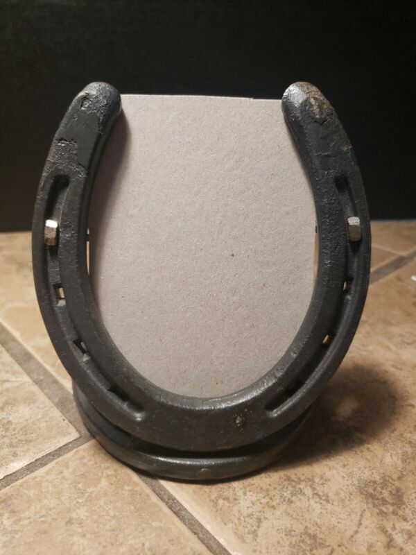 "Real Horseshoe Picture Frame 4.5""x5"""