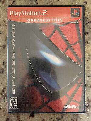 Spider-Man (Sony PlayStation 2, 2002) PS2 CIB Greatest Hits